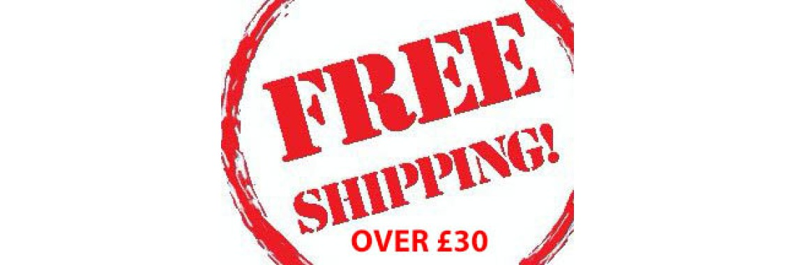 Free Shipping over £30.00