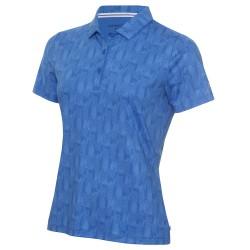 Calvin Klein Avon Ladies Polo - Yale Blue