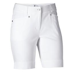 Daily Sports Lyric Shorts White - 48cms