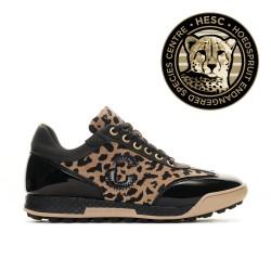 Duca Del Cosma Ladies Golf Shoe - King Cheetah