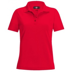 Loudmouth Women's Essential  Shirt- Polo Red