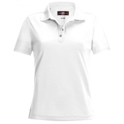 Loudmouth Women's Essential  Shirt- Polo White