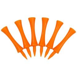 Masters Plastic Graduated Tees 2 3/4 x 20 bag - Orange