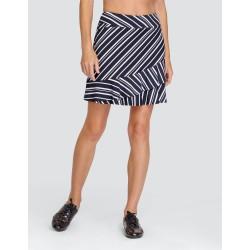 TAIL - Kiana Ladies Golf Skort 45cm - Spar Stripe