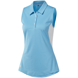 adidas Ladies Ultimate 365 Climacool Sleeveless golf Polo shirt